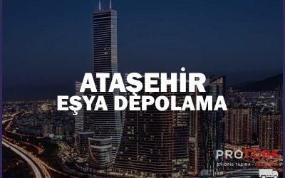 Ataşehir Eşya Depolama Hizmeti