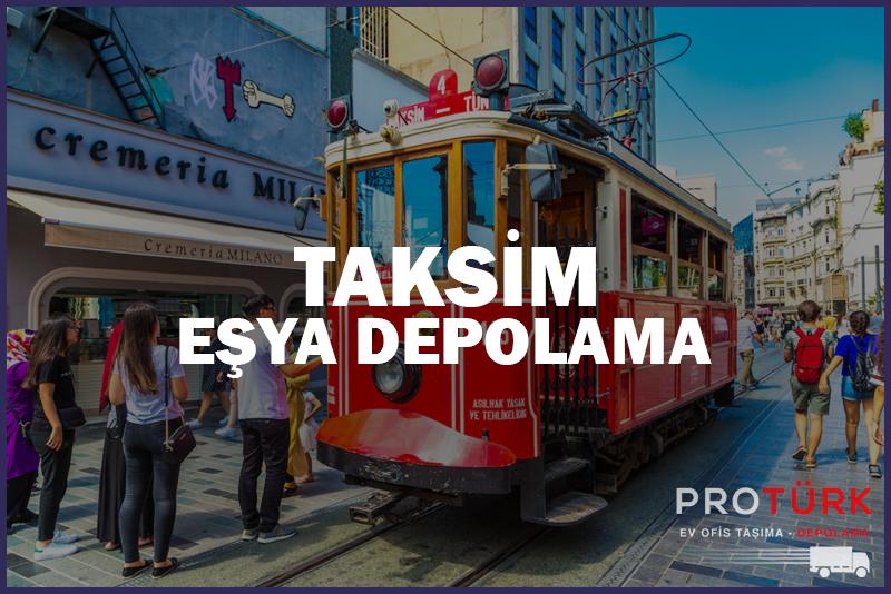 Taksim Eşya Depolama